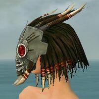 Dread Mask F gray side