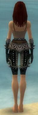 Ranger Elite Kurzick Armor F gray arms legs back