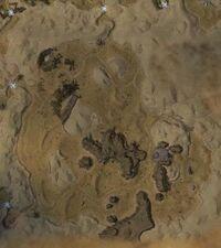 The Arid Sea map
