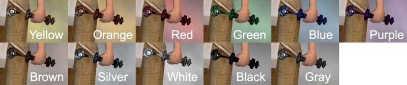 Chimeric Eye Dye Chart