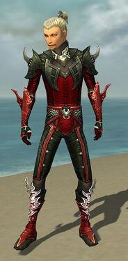 Assassin Deldrimor Armor M dyed front