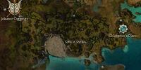 Cliffs of Dohjok map
