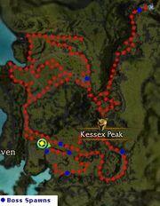 Kessex Peak - Vanquished (tips & bosses)