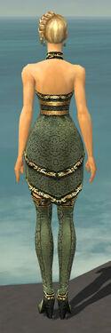 Mesmer Shing Jea Armor F gray chest feet back
