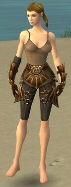 Ranger Sunspear Armor F gray arms legs front