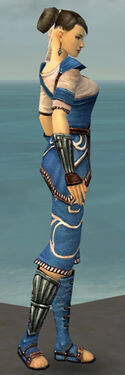 Monk Shing Jea Armor F dyed side