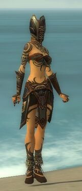 Ritualist Monument Armor F gray front