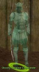 Ghostly Sunspear Commander