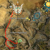 Korshek the Immolated Map