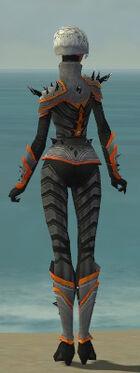 Elementalist Obsidian Armor F dyed back