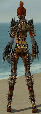 Assassin Elite Exotic Armor F gray back