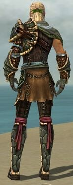 Ranger Luxon Armor M gray back