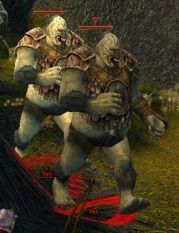 Yeti warrior
