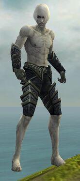 Necromancer Elite Cultist Armor M gray arms legs front