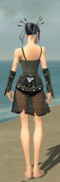 Necromancer Cabal Armor F gray arms legs back