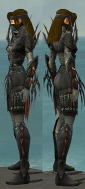 Assassin Ancient Armor F gray side