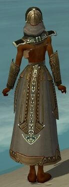 Dervish Asuran Armor F gray arms legs back