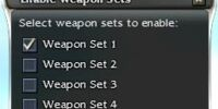Weapon set