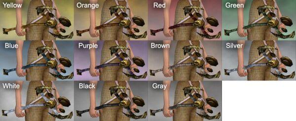 Channeling Rod Dye Chart
