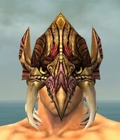 Tengu Mask gray front