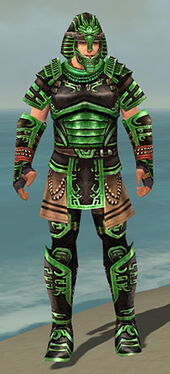 Warrior Ancient Armor M dyed front