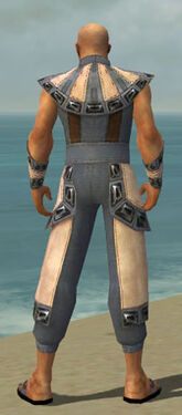 Monk Obsidian Armor M gray back