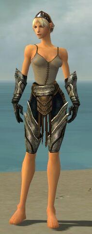 File:Warrior Elite Sunspear Armor F gray arms legs front.jpg