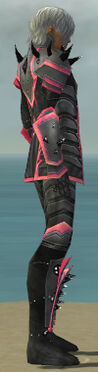 Elementalist Obsidian Armor M dyed side