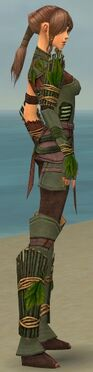 Ranger Druid Armor F gray side alternate