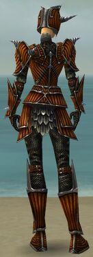 Warrior Wyvern Armor F dyed back