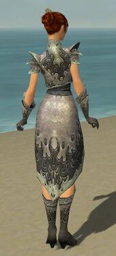Elementalist Flameforged Armor F gray back