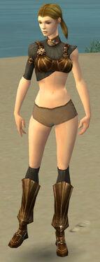 Ranger Sunspear Armor F gray chest feet front