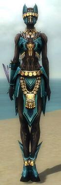 Ritualist Elite Kurzick Armor F dyed front