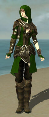 Shining Blade Uniform F default front