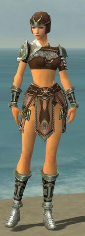 File:Warrior Gladiator Armor F gray front.jpg