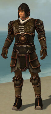 Warrior Shing Jea Armor M dyed front