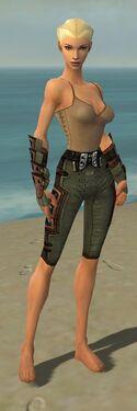 Ranger Obsidian Armor F gray arms legs front