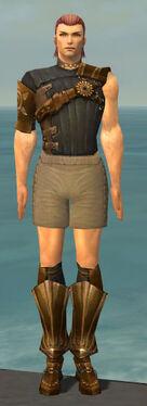 Ranger Sunspear Armor M gray chest feet front