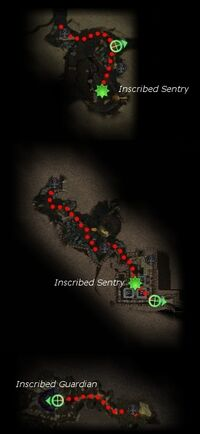 Finding the Bloodstone map