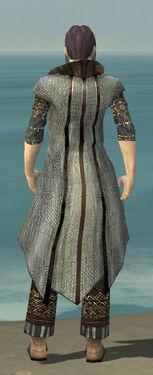 Elementalist Vabbian Armor M gray chest feet back