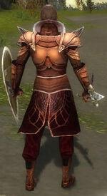 General Morgahn Mysterious Armor Back
