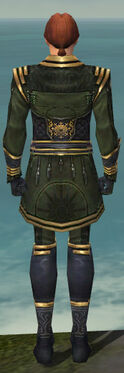 Mesmer Sunspear Armor M gray back
