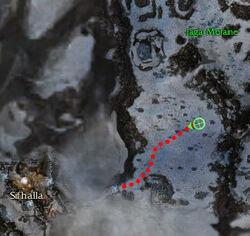 Kraks Cavalry Location