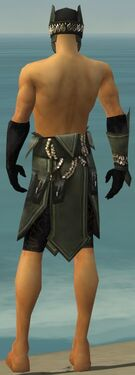 Ritualist Kurzick Armor M gray arms legs back