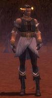 Elementalist Elite Sunspear Armor M gray front