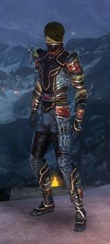 Assassin Monument Armor M dyed front