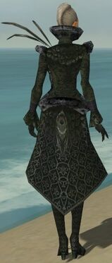 Mesmer Elite Elegant Armor F gray back