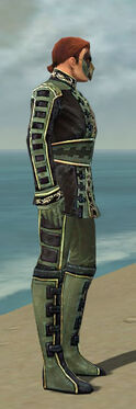 Mesmer Canthan Armor M gray side