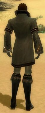 Mesmer Norn Armor M gray back