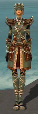 Ritualist Imperial Armor F gray front